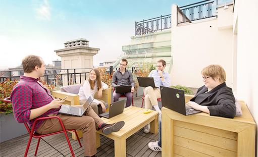 Oscaro rooftop – Paris headquarters