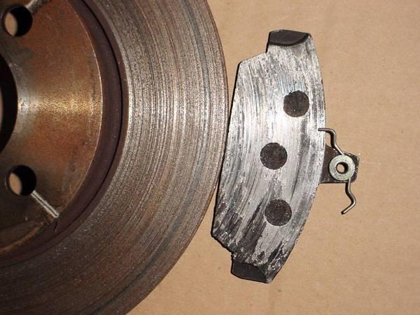 Reparar disco de freno rayado