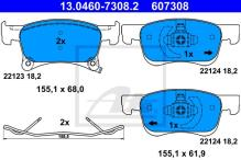 Brembo discos de freno 308mm pastillas de freno delantero opel corsa e POC = j79