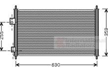 Condensateur Climatisation Climatique radiateur HONDA CIVIC III Série classer 54316