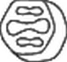 silencieux Bosal 255-949 But/ée /élastique