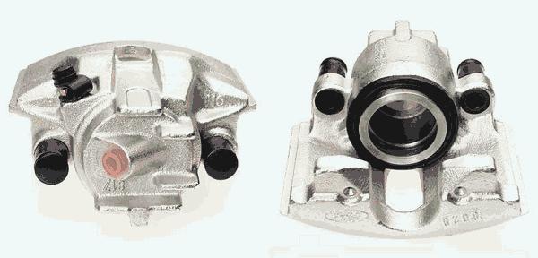 Étrier de frein Budweg Caliper A/S 341999