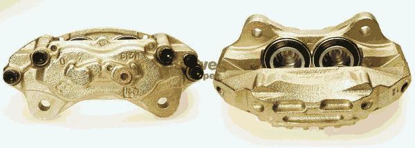 Étrier de frein Budweg Caliper A/S 342691