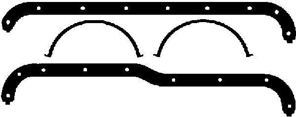 Pochette de joints de carter d'huile AJUSA 59001800