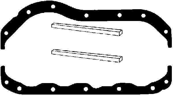 Pochette de joints de carter d'huile AJUSA 59006700