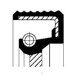 Bague d'étanchéité CORTECO 20034613B