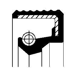 Bague d'étanchéité CORTECO 20034129B