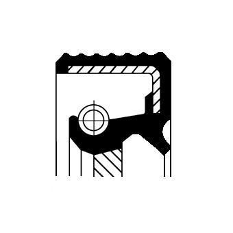 Bague d'étanchéité, boîte automatique CORTECO 19037132B