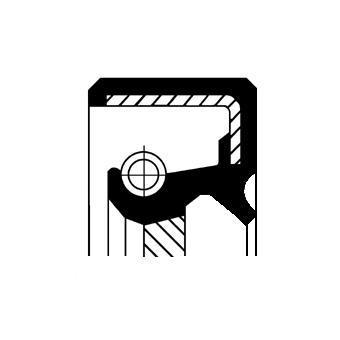 Bague d'étanchéité, différentiel CORTECO 49357901