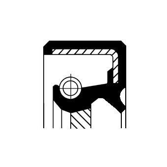 Bague d'étanchéité, différentiel CORTECO 19035214B