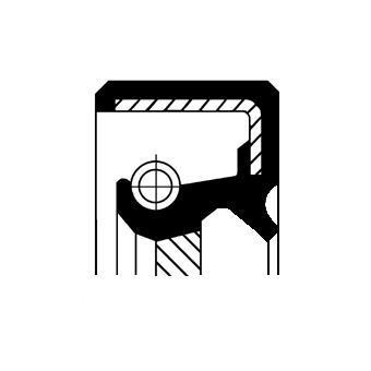 Bague d'étanchéité, différentiel CORTECO 19036831B