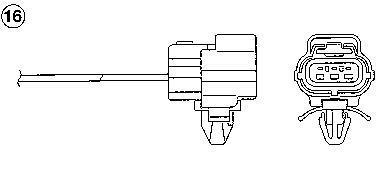 Sonde lambda NGK 93087