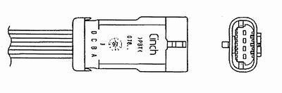 Sonde Lambda NGK 6515