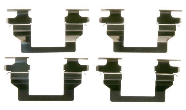 TRW PFK537 Kit daccessoires plaquette de frein /à disque