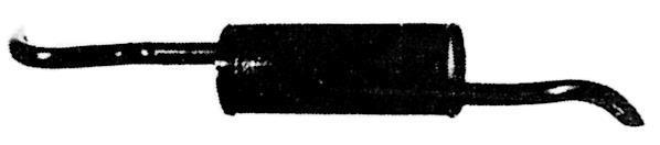 Silencieux Arrière IMASAF S.P.A 21.65.07