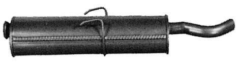 Silencieux Arrière IMASAF S.P.A 57.66.07