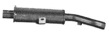 Silencieux arrière IMASAF S.P.A CT.70.07