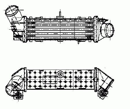 Intercooler, échangeur NRF B.V. 30412