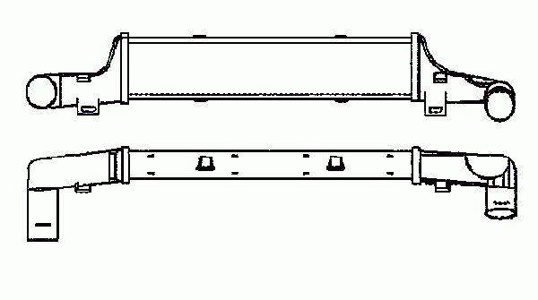 Intercooler, échangeur NRF B.V. 30419