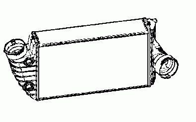 Intercooler, échangeur NRF B.V. 30442