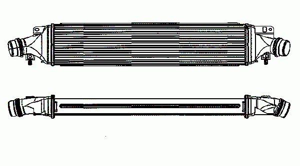 Intercooler, échangeur NRF B.V. 30780