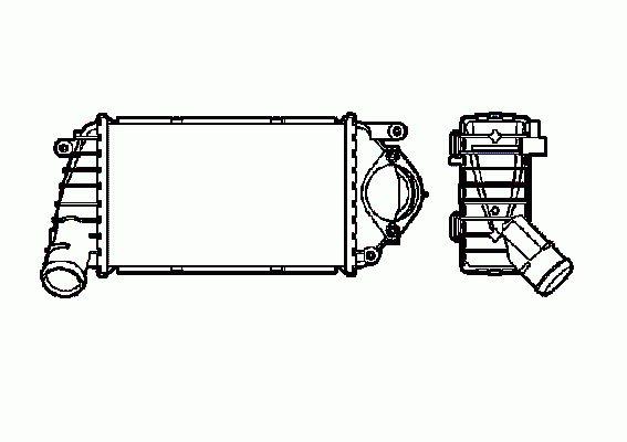 Intercooler, échangeur NRF B.V. 30849