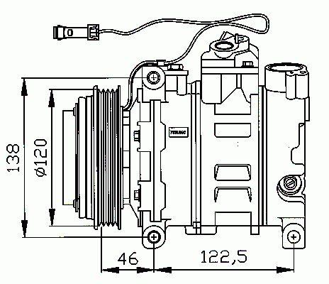 Compresseur, Climatisation NRF B.V. 32167