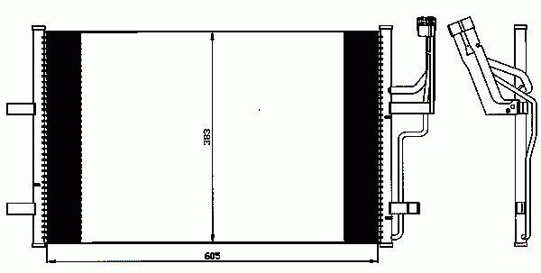 Condenseur, Climatisation NRF B.V. 35507