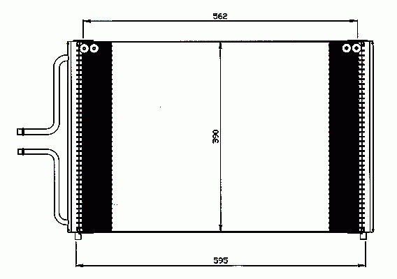 Condenseur, Climatisation NRF B.V. 35533