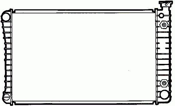 Radiateur Moteur NRF B.V. 50366