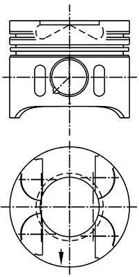 Piston NURAL 87-117900-20