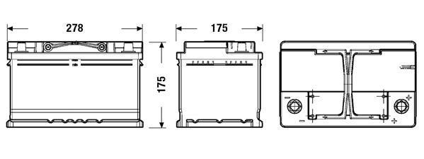 Batterie FULMEN FL652