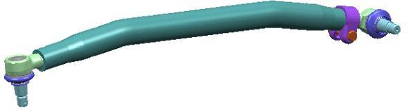 Barre de direction LEMFÖRDER 19585 01