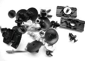 Kit de montage, choc avant VAN WEZEL 4341795