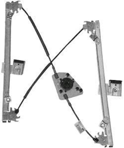 Mécanisme de lève-vitre VAN WEZEL 8353264