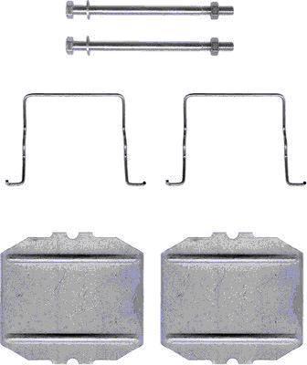 Kit d'accessoires, plaquette de frein à disque HELLA PAGID 8DZ 355 202-191