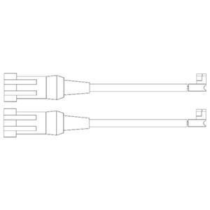 Kit de contact avertisseur, usure des garnitures de freins DELPHI LZ0202