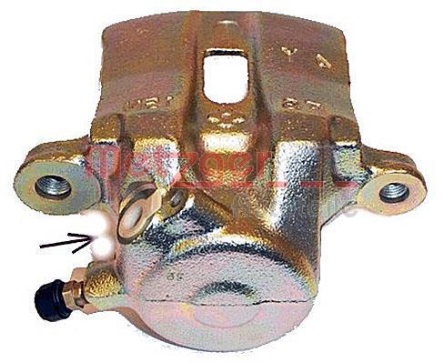 Étrier de frein METZGER 6250534