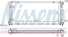 Nissens 63989 Refrigerantes del Motor