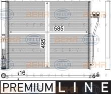 8FC 351 309-151 Hella Condensador De Aire Acondicionado