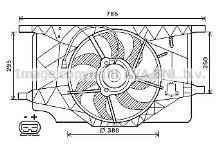 Auto, moto - pièces, accessoires Ventilateur de refroidissement du moteur RENAULT ESPACE V 5 Refroidissement