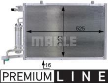 aire acondicionado 35903 para Ford Nrf condensador