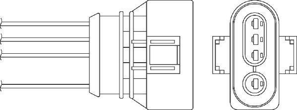 Sonde lambda BERU OZH152