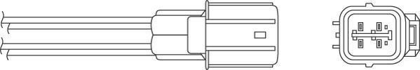 Sonde lambda BERU OZH121