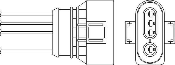 Sonde lambda BERU OZH086