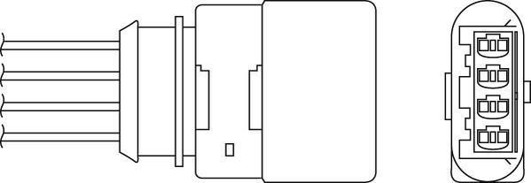 Sonde lambda BERU OPH073