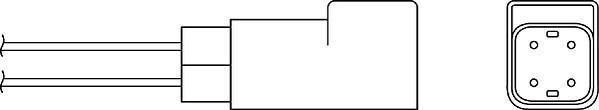Sonde lambda BERU OZH014