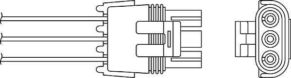 Sonde lambda BERU OZH028
