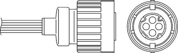 Sonde lambda BERU OZH039
