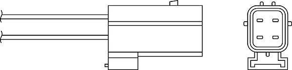 Sonde lambda BERU OZH057